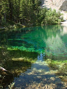 Grassi Lakes a great little hike just minutes from Off our Rockies B&B